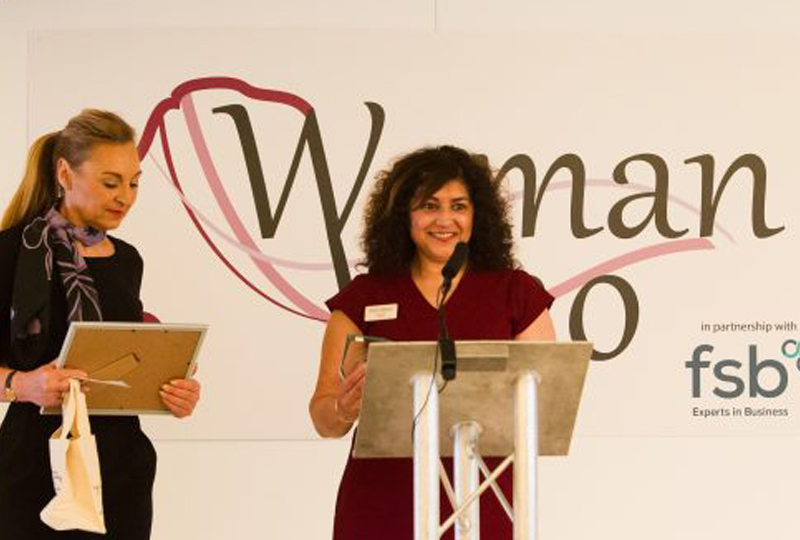 Unique Therapies Finalist at Woman Who Awards