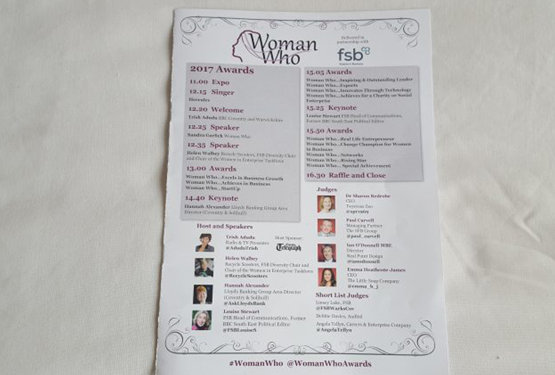 Woman Who Programme – what amazing company!